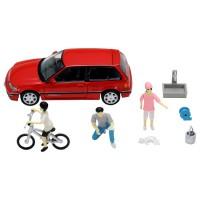 TT Tomytec TLV-Diocolle 64 # Car Snap 02a Car Washing