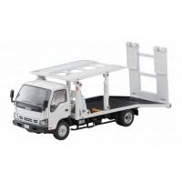TT Tomytec TLV-N191a Isuzu ELF Hanamidai Auto Bigwide(White)