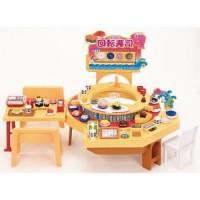 LC Licca Set-Kuru Kuru Sushi Shop & Doll Set