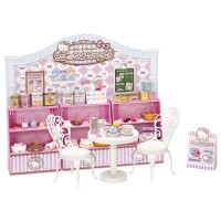 LC Licca Set-Hello Kitty Sweets Cafe