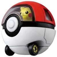 TD Dream Tomica-R10 Pikachu & Monster Ball Car