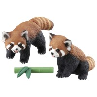 AN Ania Figure AS-35 Red Panda (with Bamboo)