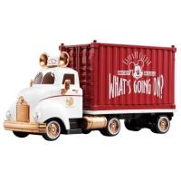 迪士尼貨櫃收納車