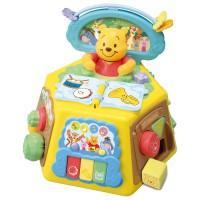 IP Disney Baby-English Pooh Finger Play Box & Pix Book