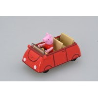 TD Dream Tomica-Ride on Peppa Pig