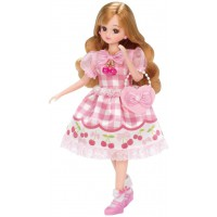 LC Licca Dress LW-10 Cherish Pink