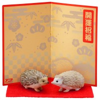 AN Ania Figure-Oriental Zodiac Hedgehog