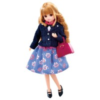 LC Licca Doll LD-17 LICCA Girly Fullage