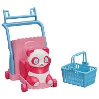 LC Licca Accessory-Shopping Panda Cart