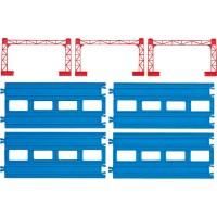 Plarail R-04 複線直線路軌