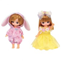 LC Licca Dress LW-21 Miki & Maki Dress set