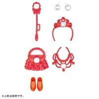 LC Licca Dress-Princess Elegant Rose