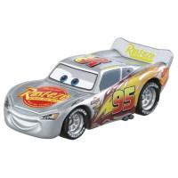 TD Disney Cars 3 Tomica C-31 Lightning McQueen(Silver Racer)
