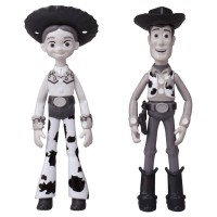 FG Disney Figure-Toy Story Metacolle 25th Ann. Woody  Round