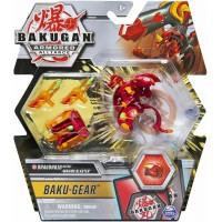 BG Bakugan AA DX Gear BAKU Ball 37A Dragonoid Red