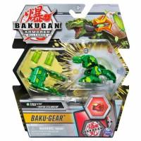 BG Bakugan AA DX Gear BAKU Ball 39C Trox Green