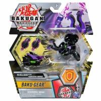 BG Bakugan AA DX Gear BAKU Ball 42D Nillious Black