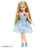 LC Licca Dress LW-02 Aqua Mermaid