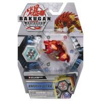 BG Bakugan AA DX BAKU Ball 43A Salamander Red