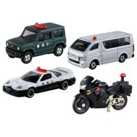 TD Tomica Gift- Police Car Set