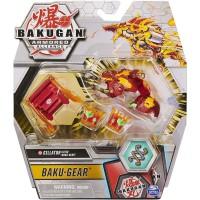 BG Bakugan AA DX Gear BAKU Ball 43A Salamander Red