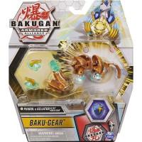 BG Bakugan AA DX Gear BAKU Ball 49FE Sphinx Salamander GD/WH
