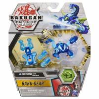BG Bakugan AA DX Gear BAKU Ball 48B Archelous Blue GBL