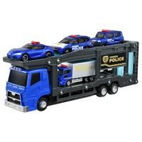 TD Tomica Gift- Police Station Carrier Car Set