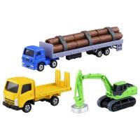 TD Tomica Gift-Construction Car Set