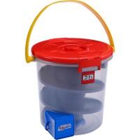 迴轉收納桶