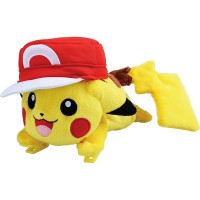 PS Pokemon Plush-Role Play Pikachu with Ash's Cap