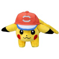 PS Pokemon Plush-Shoulder Beanie Pikachu (Satoshi Cap VER.)