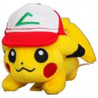 PS Pokemon Plush-Shoulder Pikachu with Cap (RG)