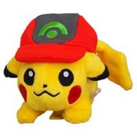 PS Pokemon Plush-Shoulder Pikachu with Cap (AG)